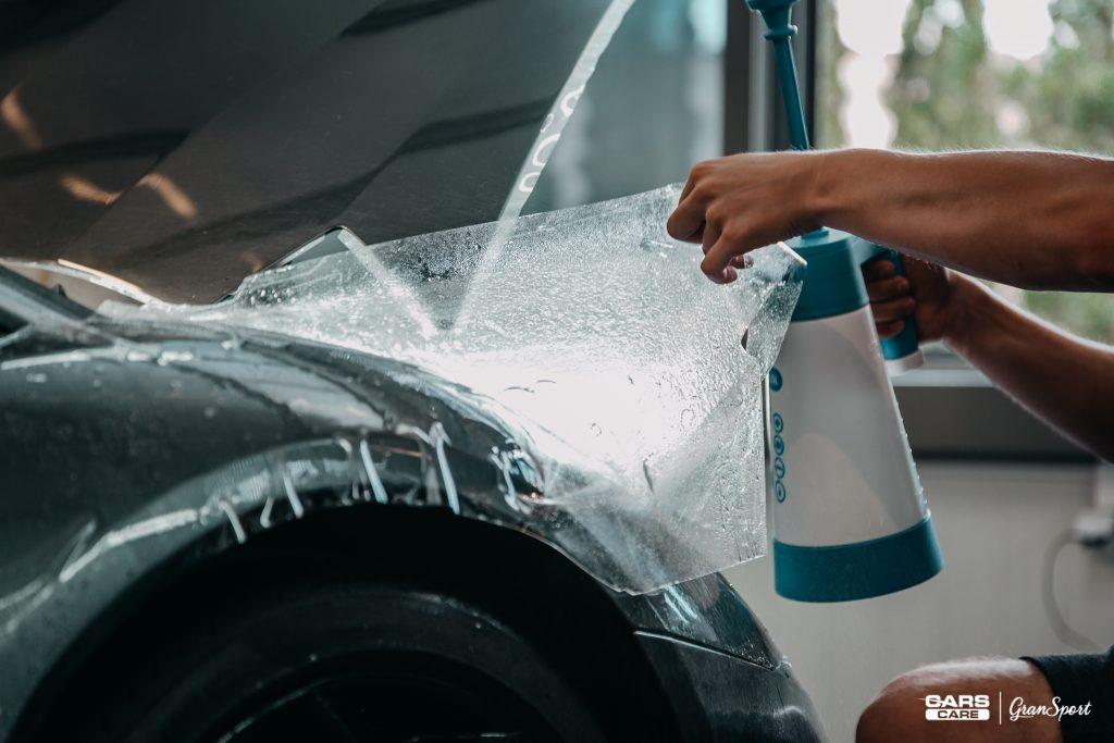 Lamborghini Aventador - bezbarwna folia ochronna - carscare.pl