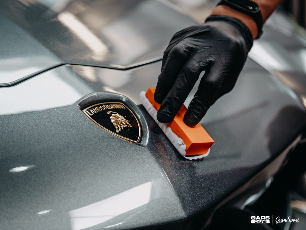 Lamborghini Aventador - powłoka ceramiczna - carscare.pl