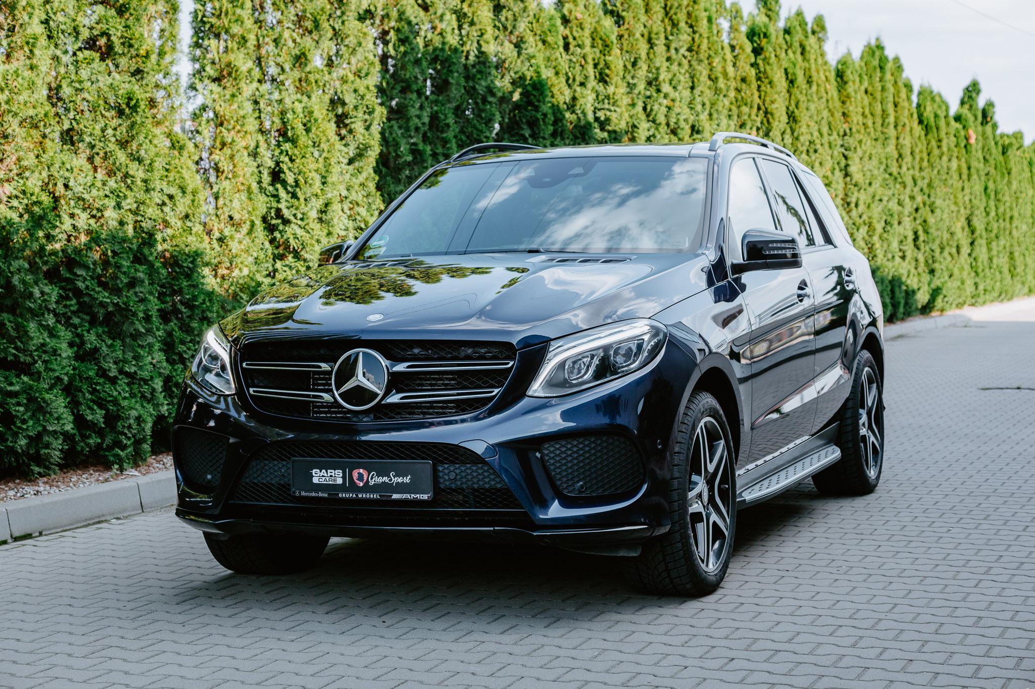 Mercedes-Benz GLE - autodetailing - carscare.pl