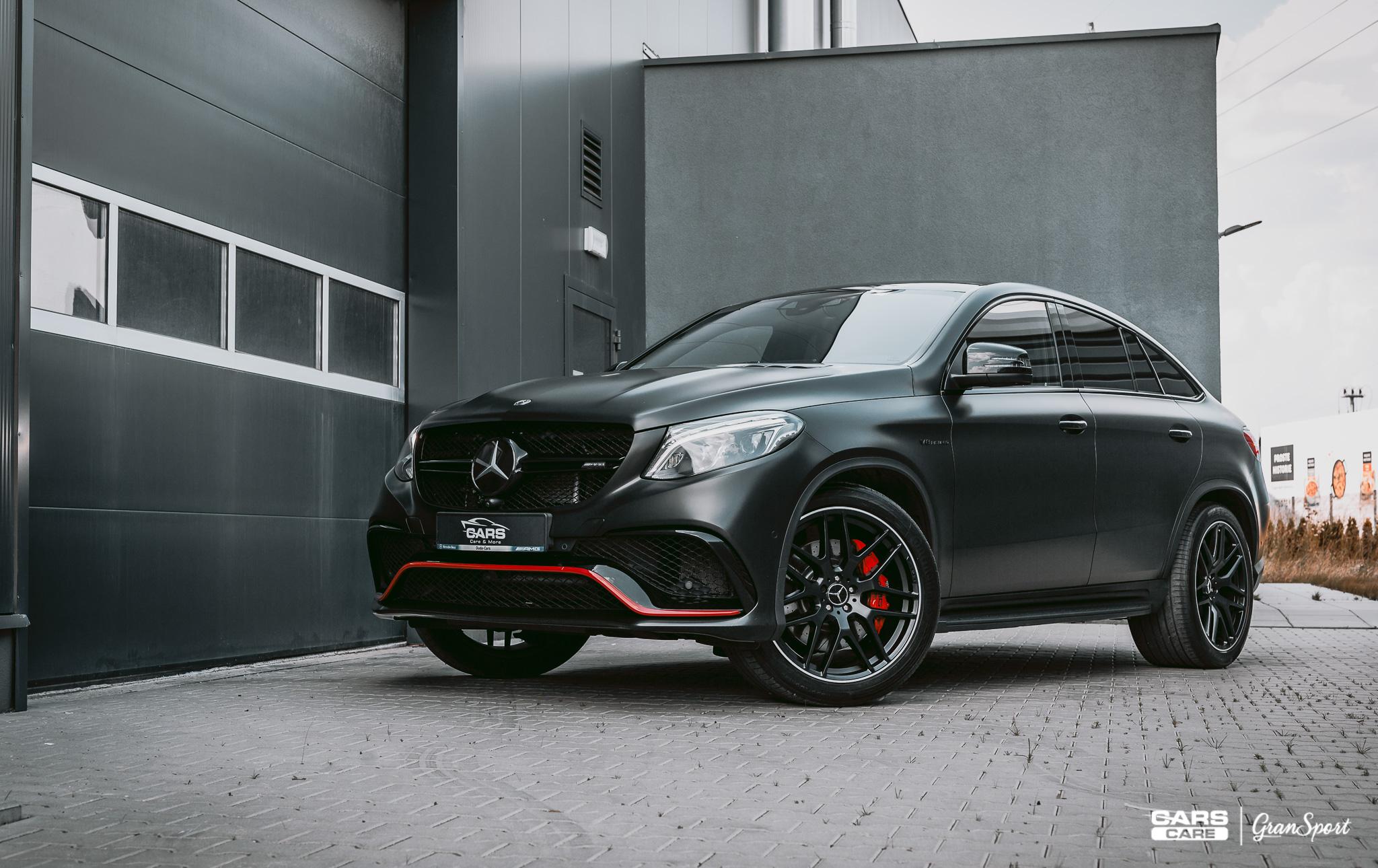 Mercedes-Benz GLE 63 AMG S Coupe - autodetailing - carscare.pl