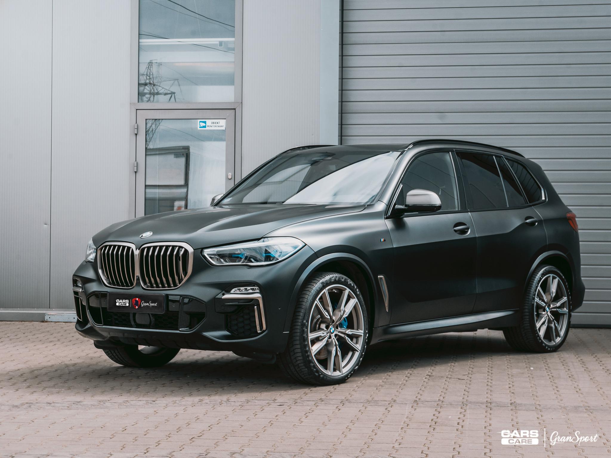 BMW X5 M50d - autodetailing - carscare.pl