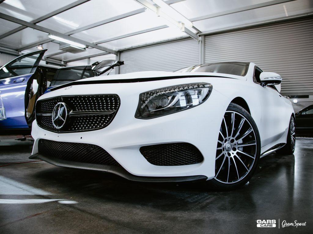 Mercedes-Benz S 500 Coupe - zmiana koloru auta - carscare.pl