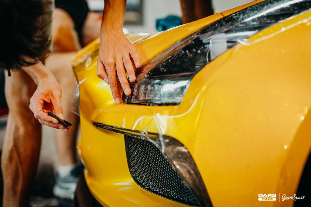 Mercedes-Benz SLS AMG Black Series - auto detailing mycie auta - carscare.pl