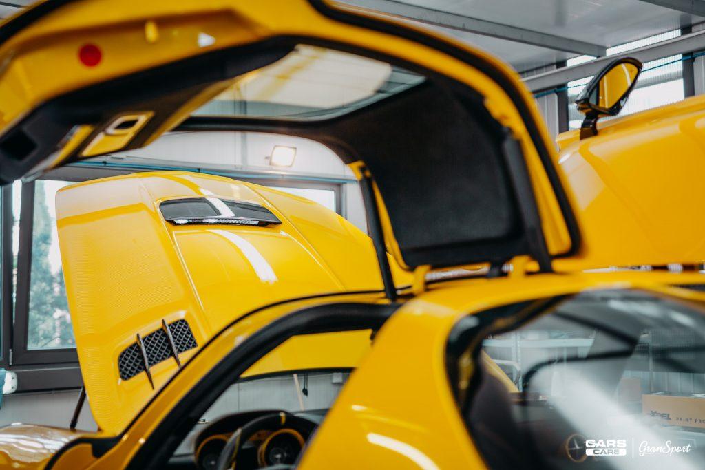 Mercedes-Benz SLS AMG Black Series - bezbarwna folia ochronna - carscare.pl