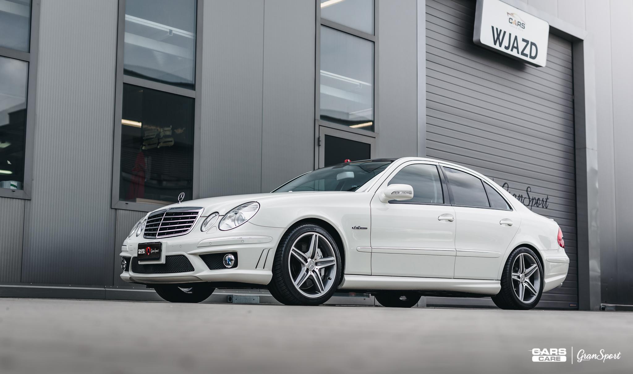 Mercedes-Benz E 63 AMG - auto detailing - carscare.pl