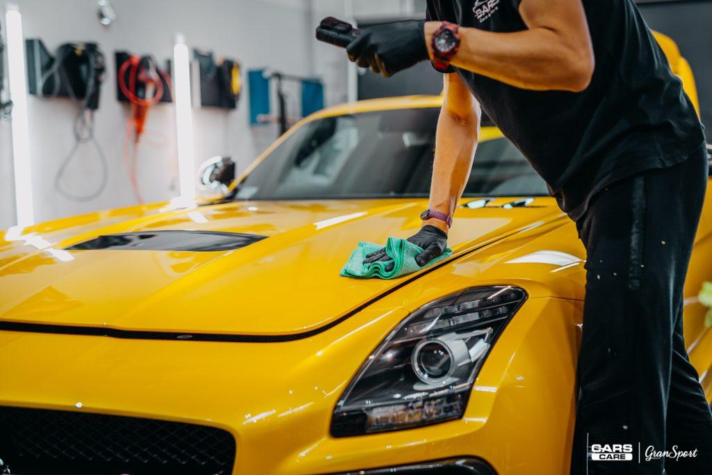Mercedes-Benz SLS AMG Black Series - powłoka ceramiczna - carscare.pl