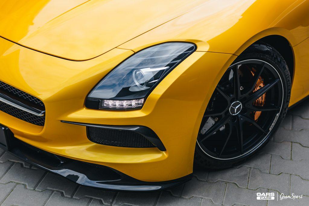 Mercedes-Benz SLS AMG Black Series - korekta lakieru - carscare.pl