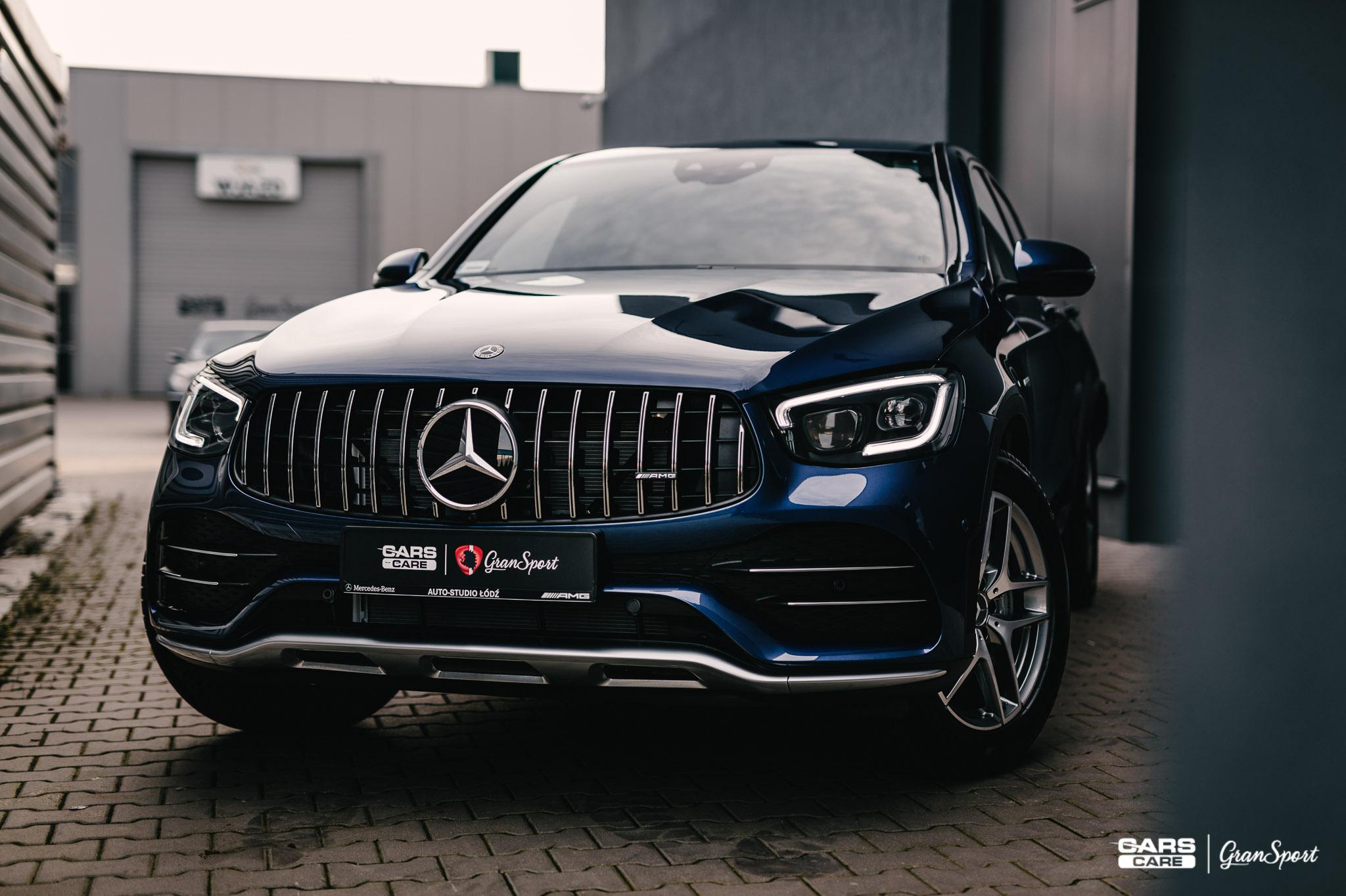 Mercedes-AMG GLC 43 Coupe - Zabezpieczenie auta bezbarwną folią ochronną - carscare.pl