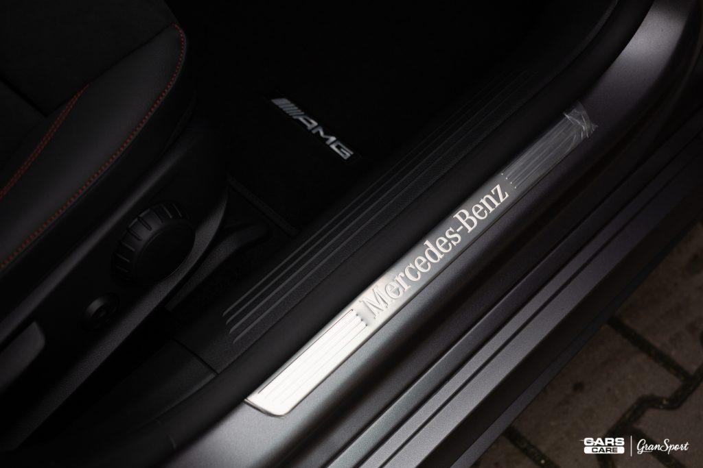 Mercedes-Benz CLA 220 - Zmiana Koloru Auta Folią - carscare.pl