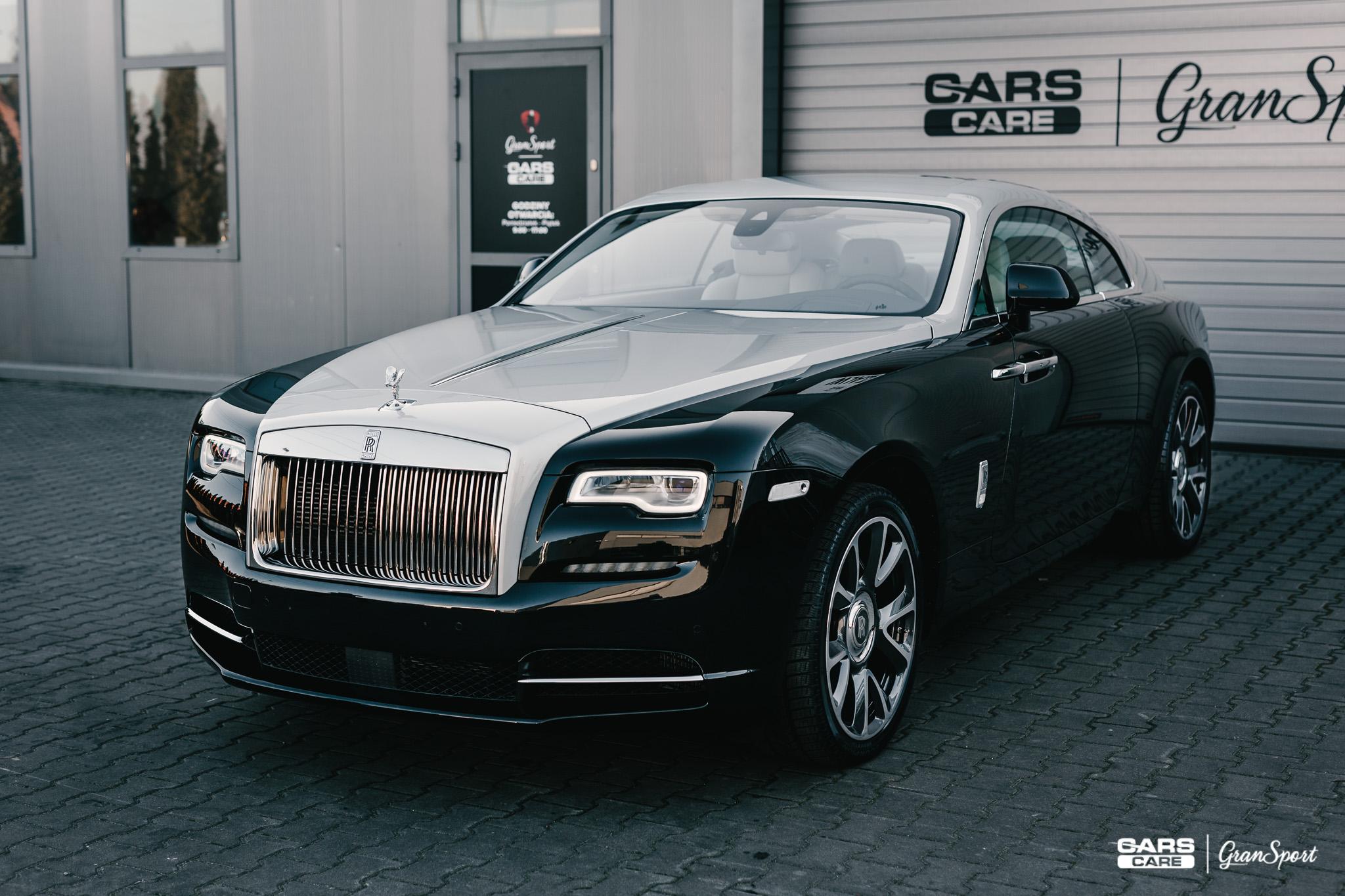 Rolls-Royce Wraith - Zabezpieczenie auta bezbarwną folią ochronną - carscare.pl