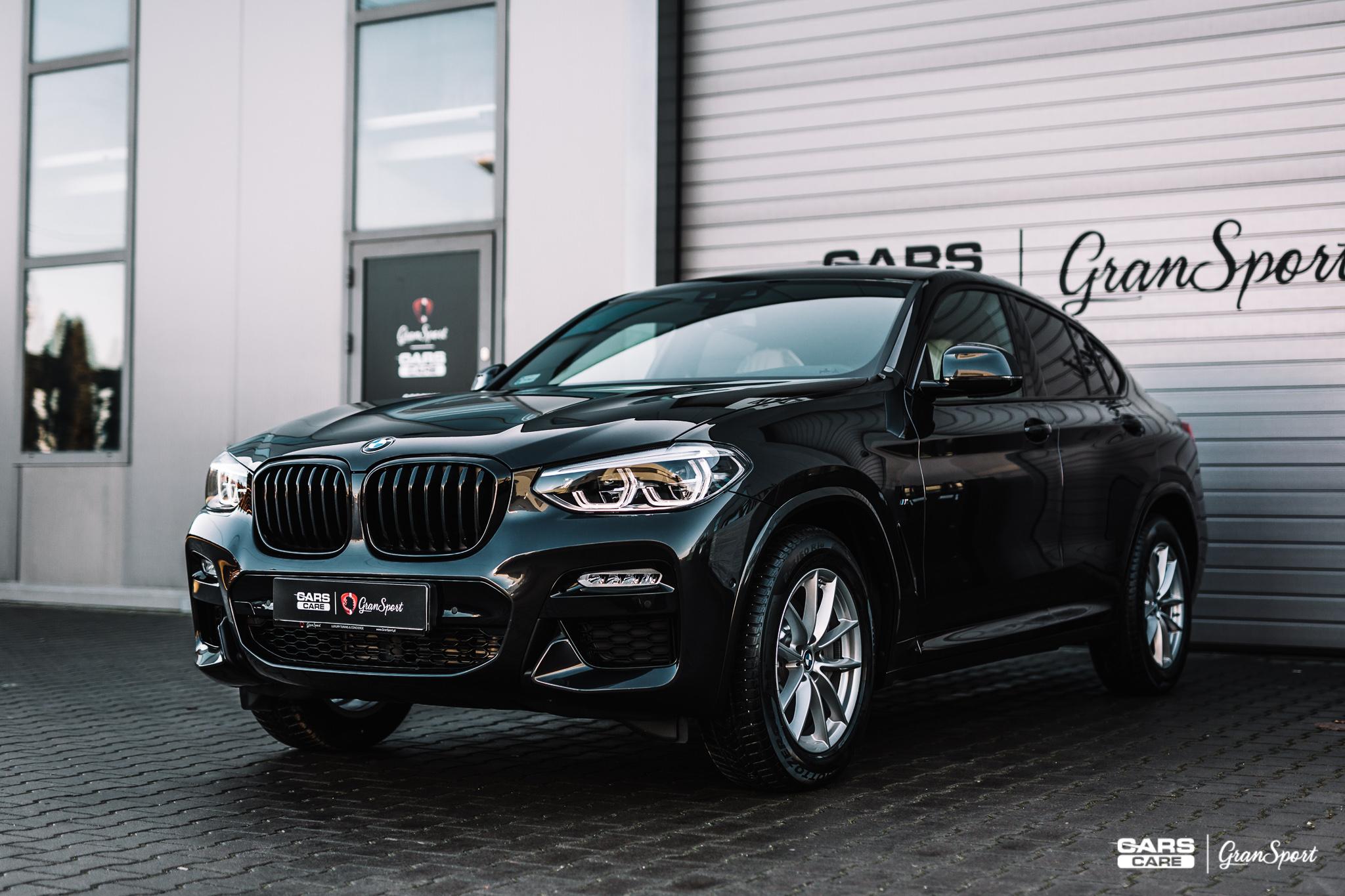 BMW X4 - Zabezpieczenie auta bezbarwną folią ochronną i powłoką ceramiczną - carscare.pl
