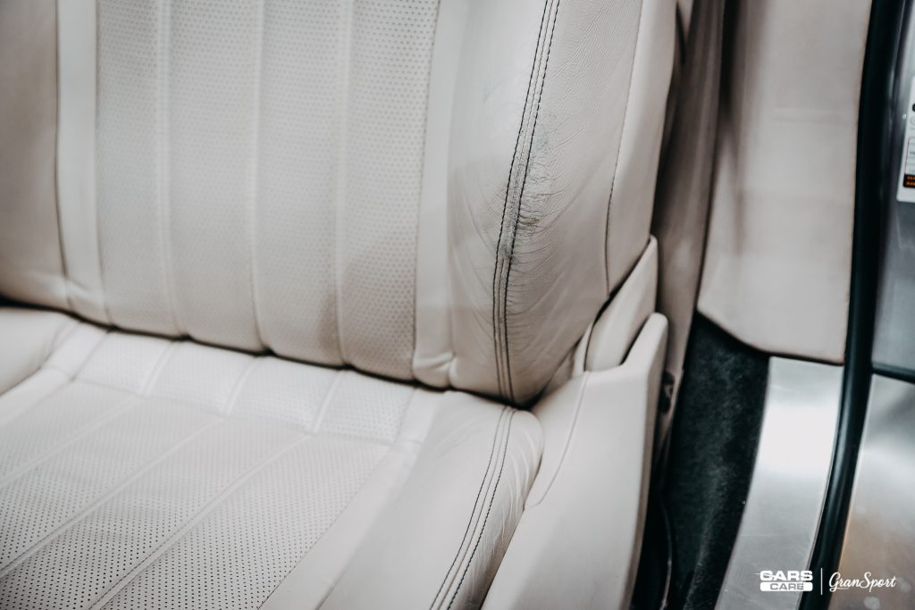 Bentley Continental GTC - Renowacja tapicerki skórzanej - carscare.pl