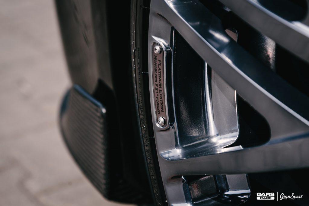 Brabus 900 Coupe - Zabezpieczenie auta bezbarwną folią ochronną - carscare.pl