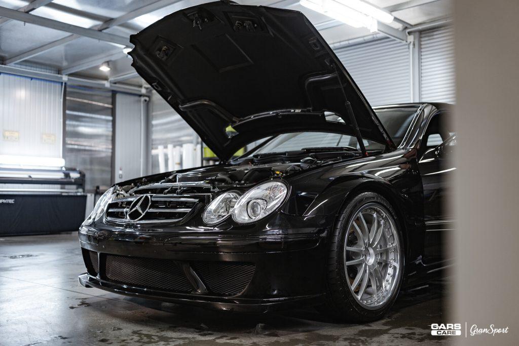 Mercedes CLK DTM AMG - Zabezpieczenie auta bezbarwną folią ochronną - carscare.pl
