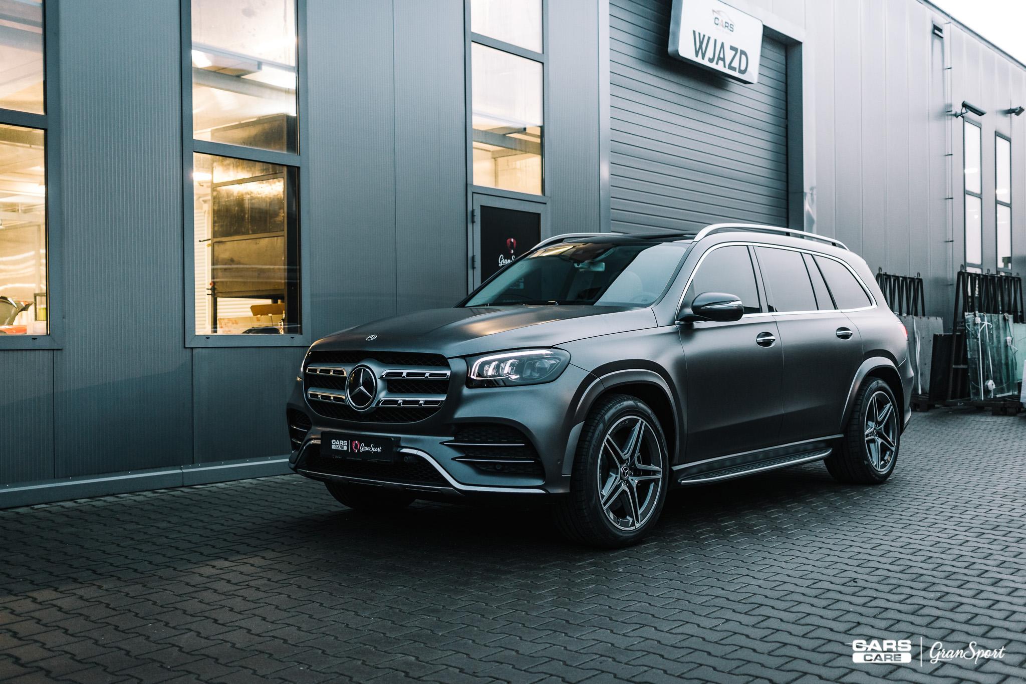 Mercedes-Benz GLS - Zmiana koloru auta folią - carscare.pl