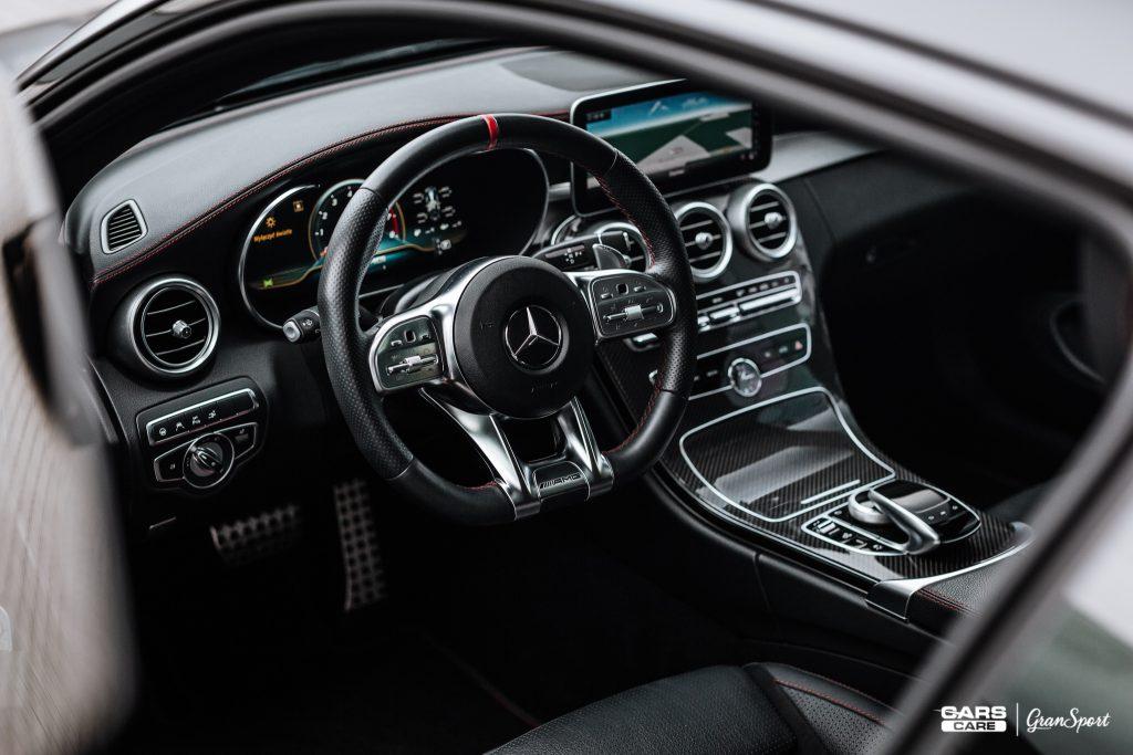 Mercedes-AMG C 43 - Zabezpieczenie auta bezbarwną folią ochronną - carscare.pl