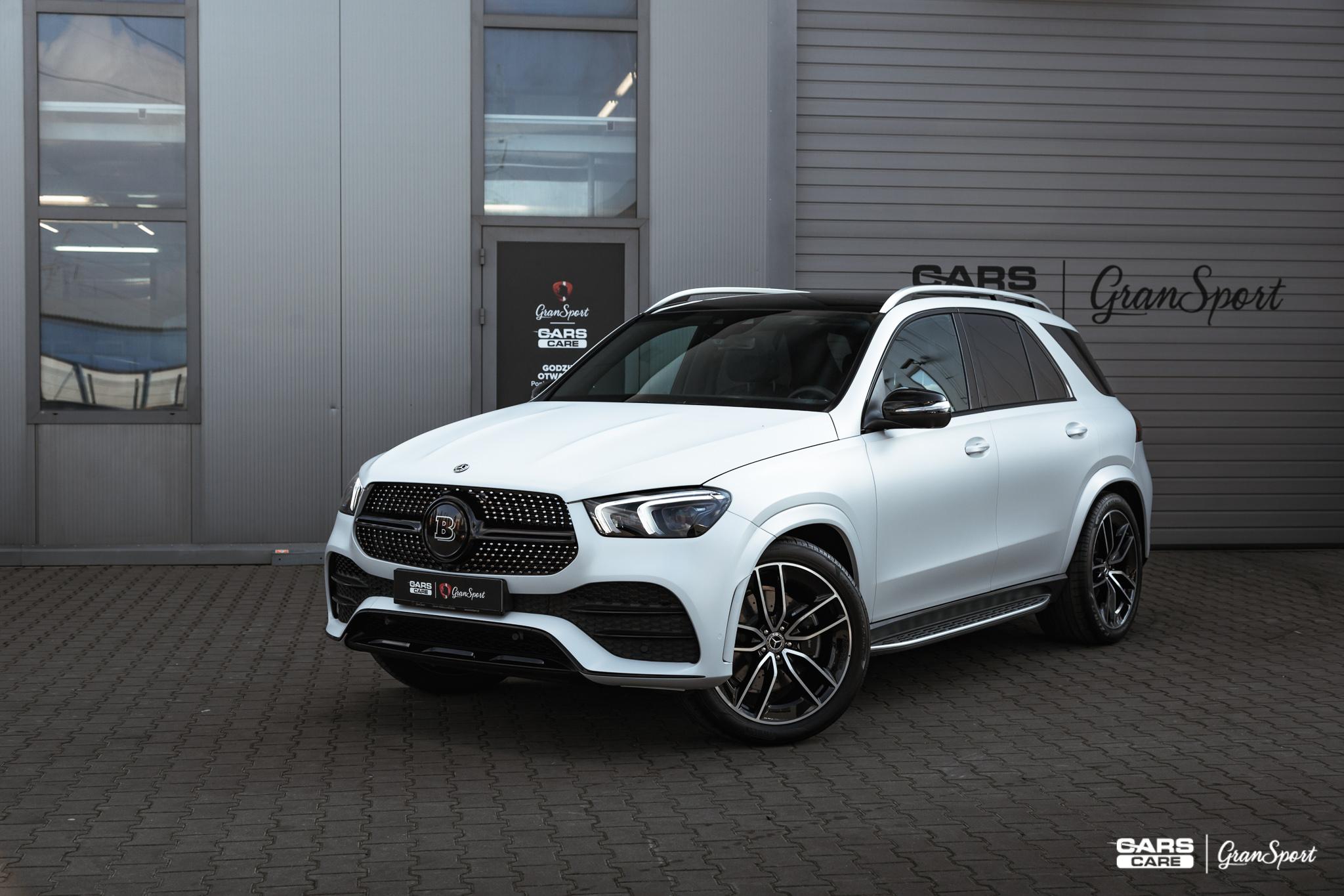 Mercedes-Benz GLE - Zmiana koloru auta folią - carscare.pl
