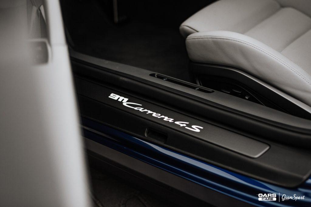 Porsche 911 992 - Zabezpieczenie auta bezbarwną folią ochronną - carscare.pl
