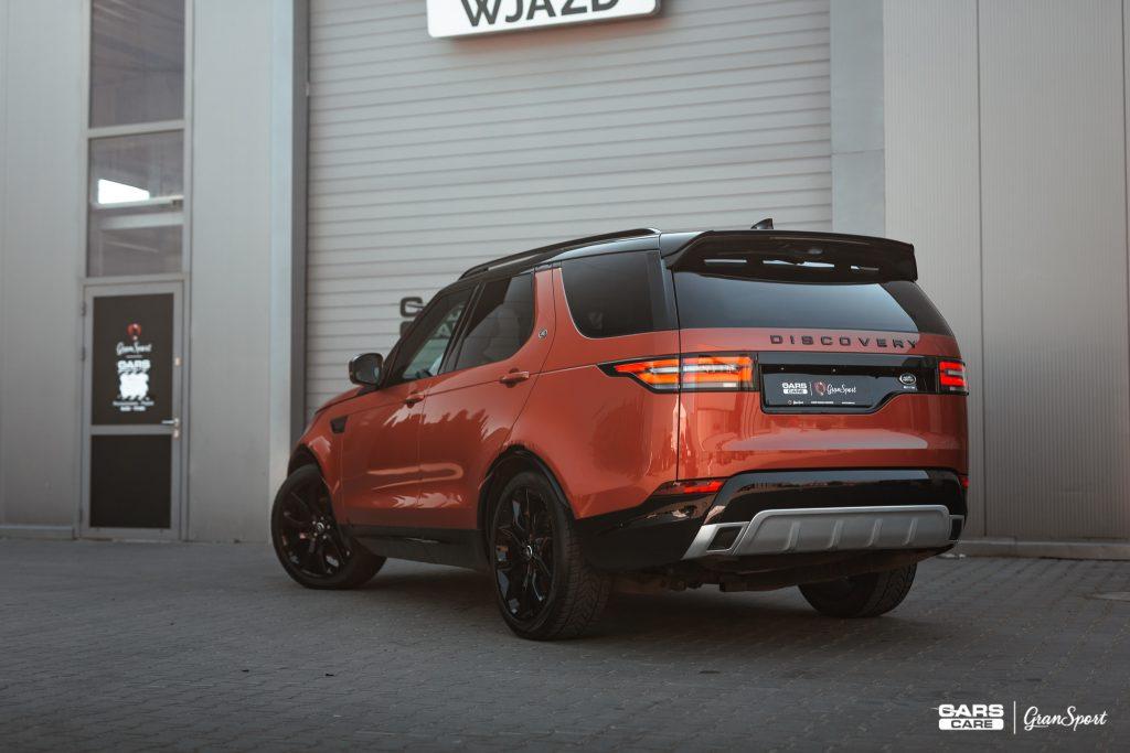 Land Rover Discovery - Powłoka ceramiczna - carscare.pl