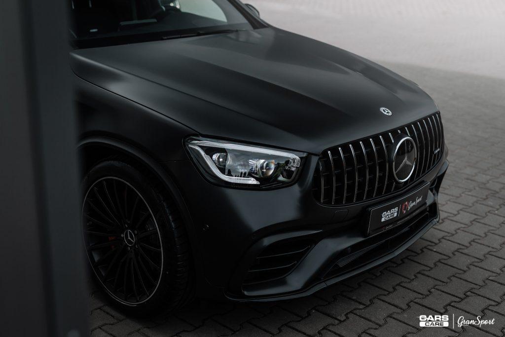 Mercedes-AMG GLC 63 S Coupe - Zabezpieczenie auta bezbarwną folią ochronną - carscare.pl