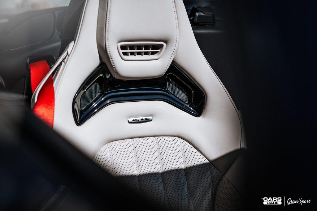 Mercedes-AMG GT R Roadster - Zabezpieczenie auta bezbarwną folią ochronną - carscare.pl