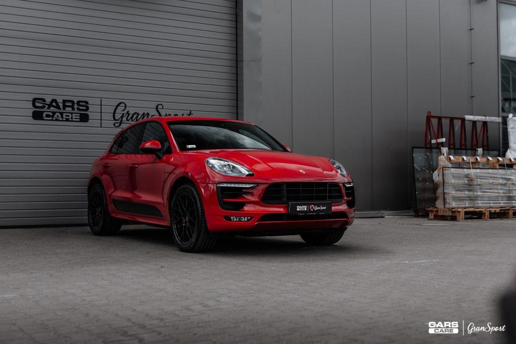 Porsche Macan GTS - Powłoka ceramiczna - carscare.pl