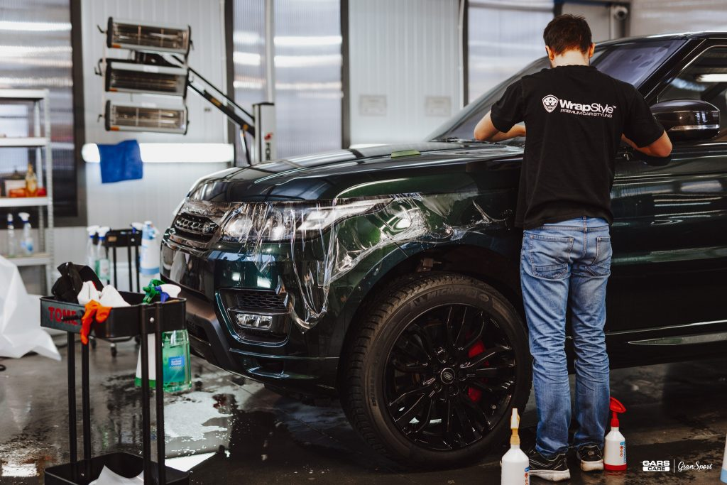Range Rover Sport Supercharged - detailing, wrapping, tuning - carscare.pl
