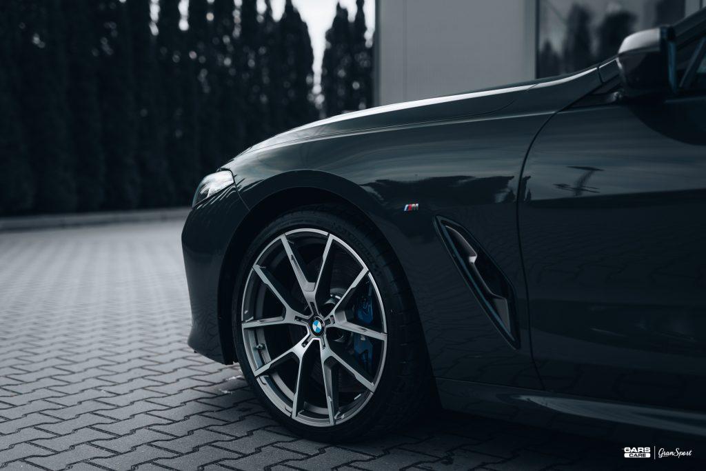 BMW M850i - Zabezpieczenie auta bezbarwną folią ochronną - carscare.pl