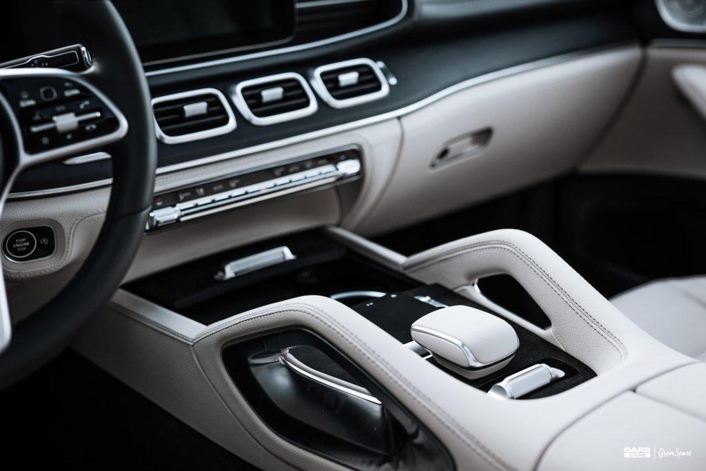 Mercedes-Benz GLE SUV - Zabezpieczenie auta bezbarwną folią ochronną - carscare.pl