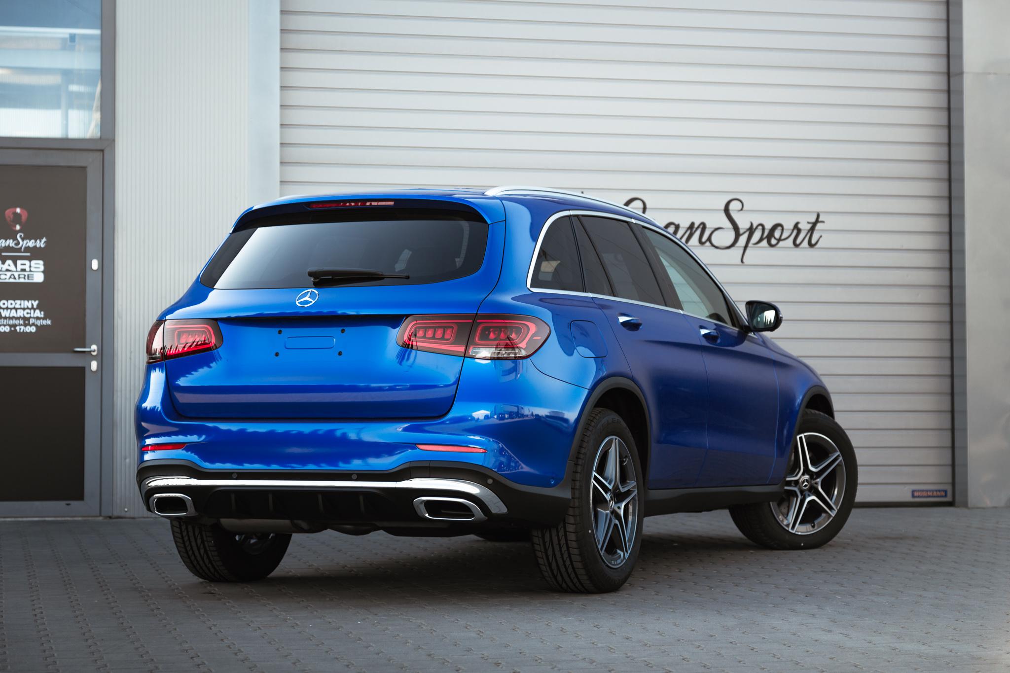 Mercedes-Benz GLC SUV - Zmiana koloru auta folią - carscare.pl