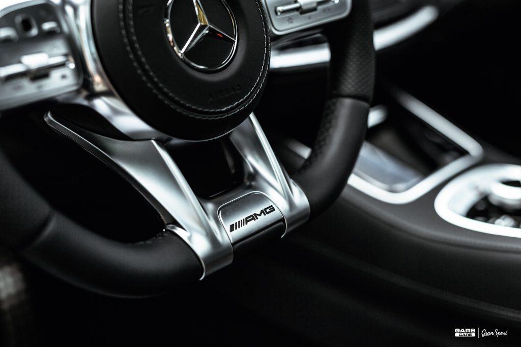Brabus 800 Coupe - Zabezpieczenie auta bezbarwną folią ochronną - carscare.pl