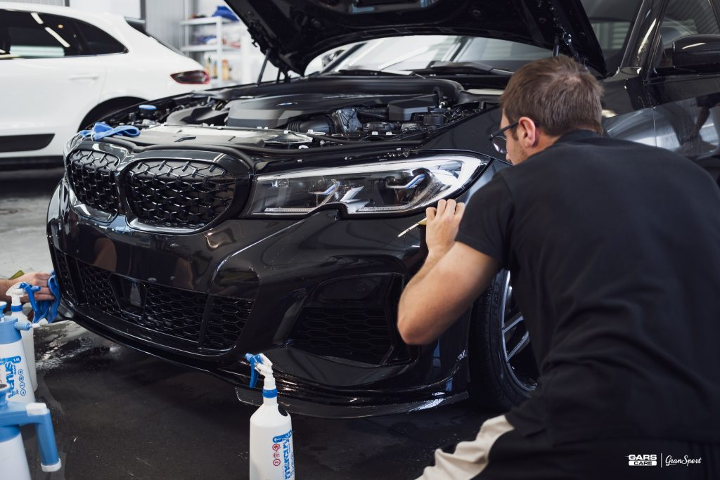 BMW 3 G20 - Zabezpieczenie auta bezbarwną folią ochronną - carscare.pl