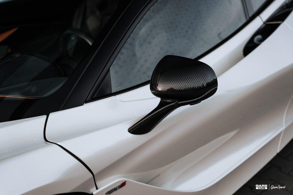 McLaren 720S - Zmiana koloru auta folią - carscare.pl