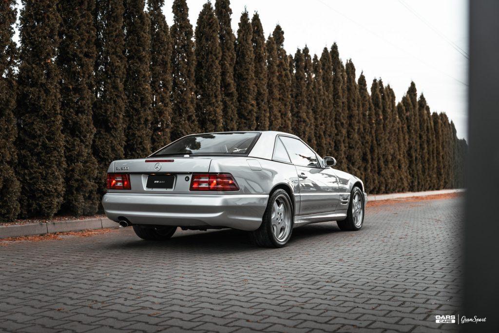 Mercedes SL 500 R129 - Powłoka ceramiczna - carscare.pl