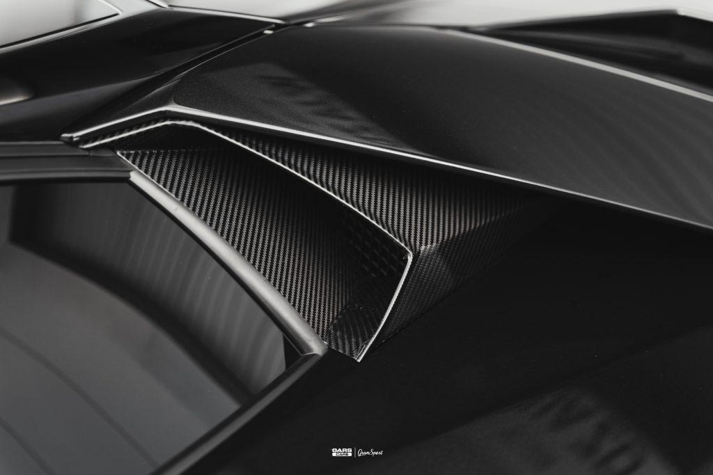 Lamborghini Aventador S - Zabezpieczenie auta bezbarwną folią ochronną - carscare.pl