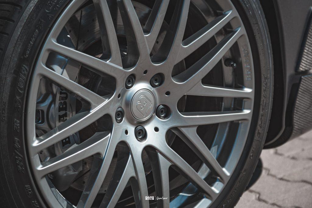 Brabus S 63 AMG - Zmiana koloru auta folią - carscare.pl