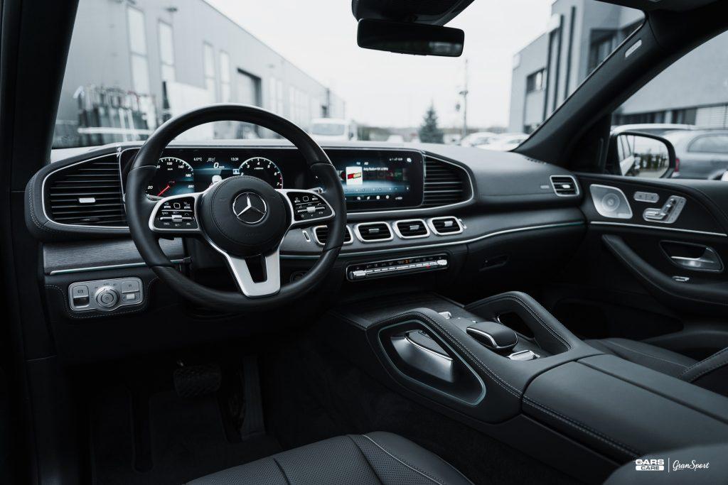 Mercedes-Benz GLE - Zabezpieczenie auta bezbarwną folią ochronną - carscare.pl