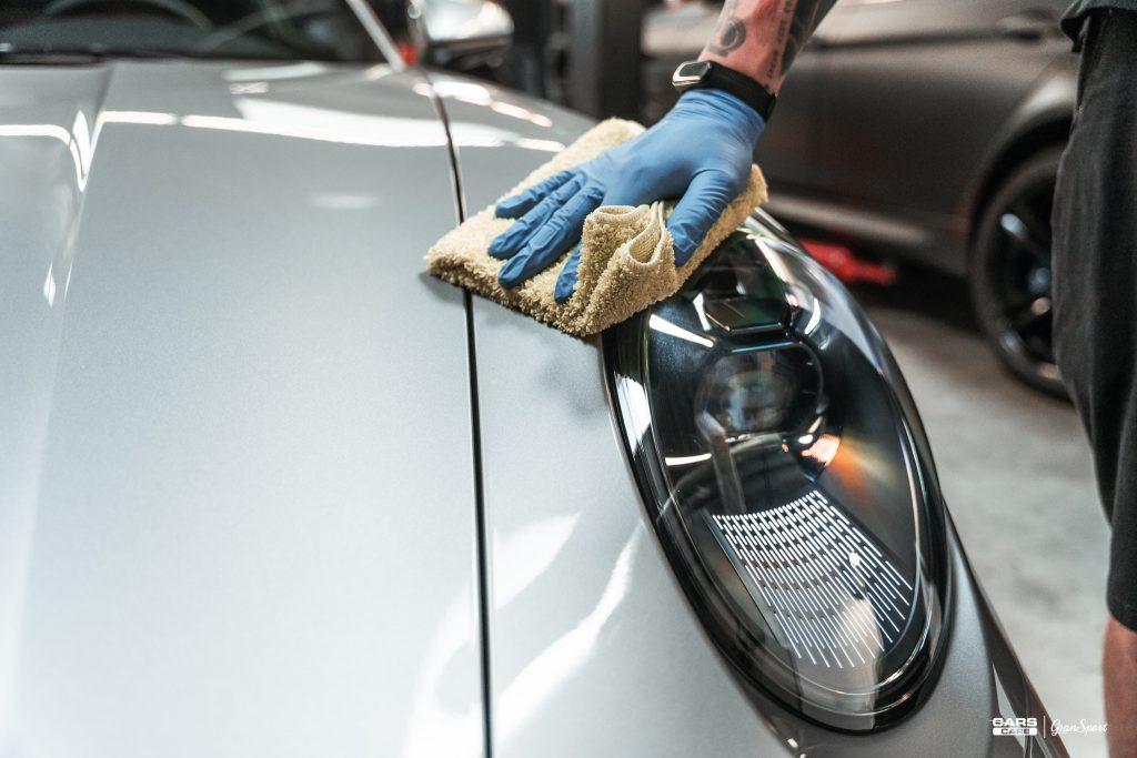 Porsche 911 Turbo S - Powłoka ceramiczna - carscare.pl