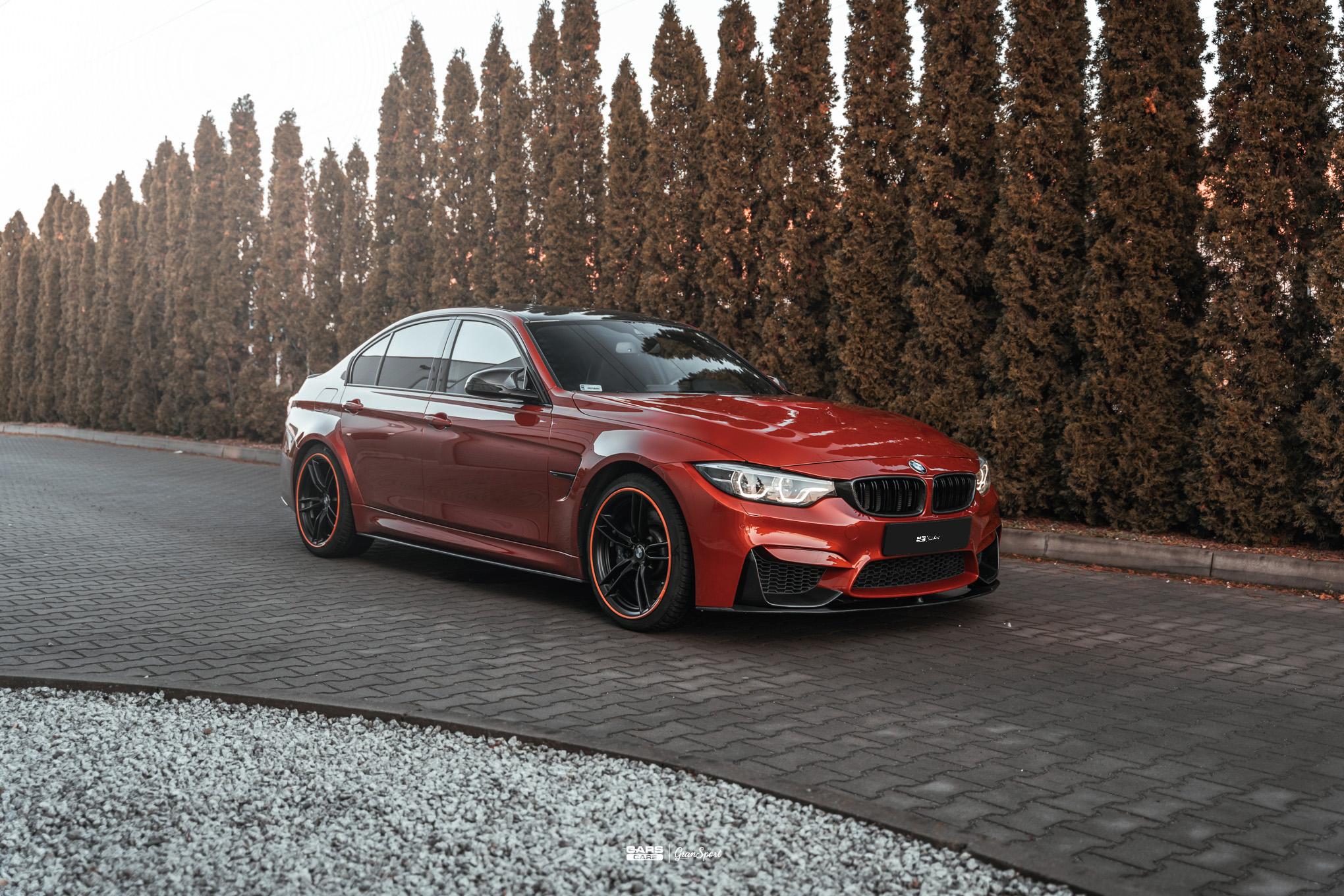 BMW M3 F80 - Zabezpieczenie auta bezbarwną folią ochronną - carscare.pl