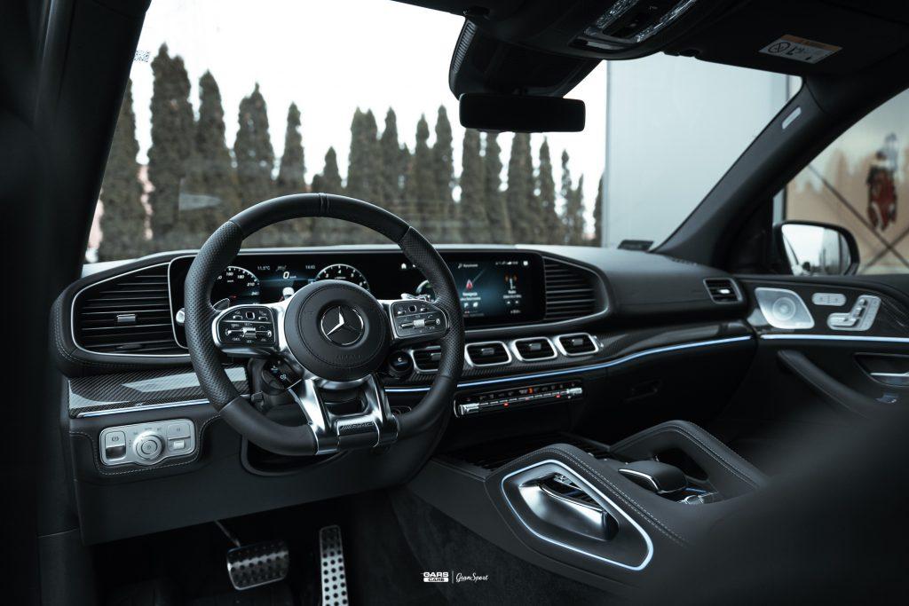 Mercedes-AMG GLS 63 - Zabezpieczenie auta bezbarwną folią ochronną - carscare.pl