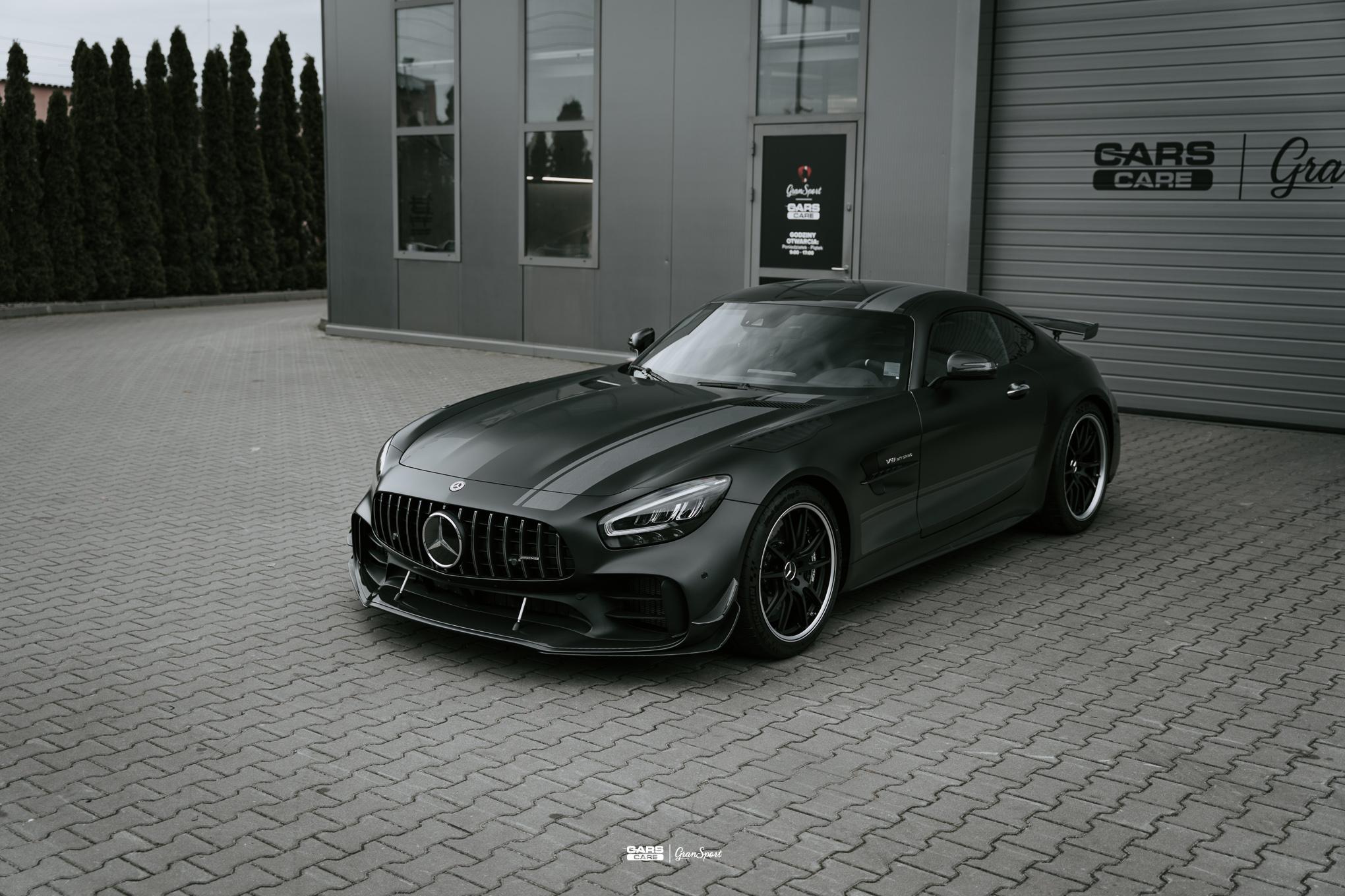 Mercedes-AMG GT R Pro - Zabezpieczenie auta bezbarwną folią ochronną - carscare.pl