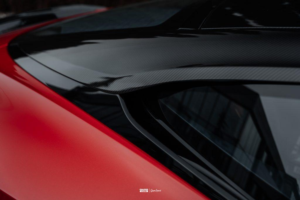 Aston Martin DBS Superleggera - Zabezpieczenie auta bezbarwną folią ochronną - carscare.pl