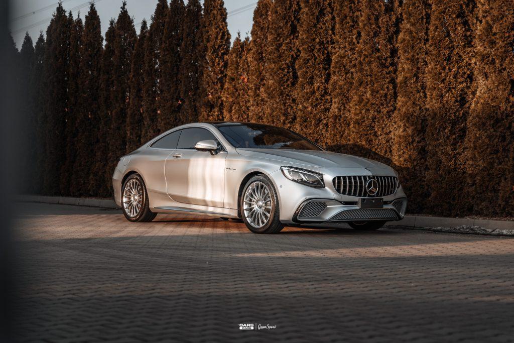 Mercedes-Benz S 65 AMG Coupe - Zabezpieczenie auta bezbarwną folią ochronną - carscare.pl