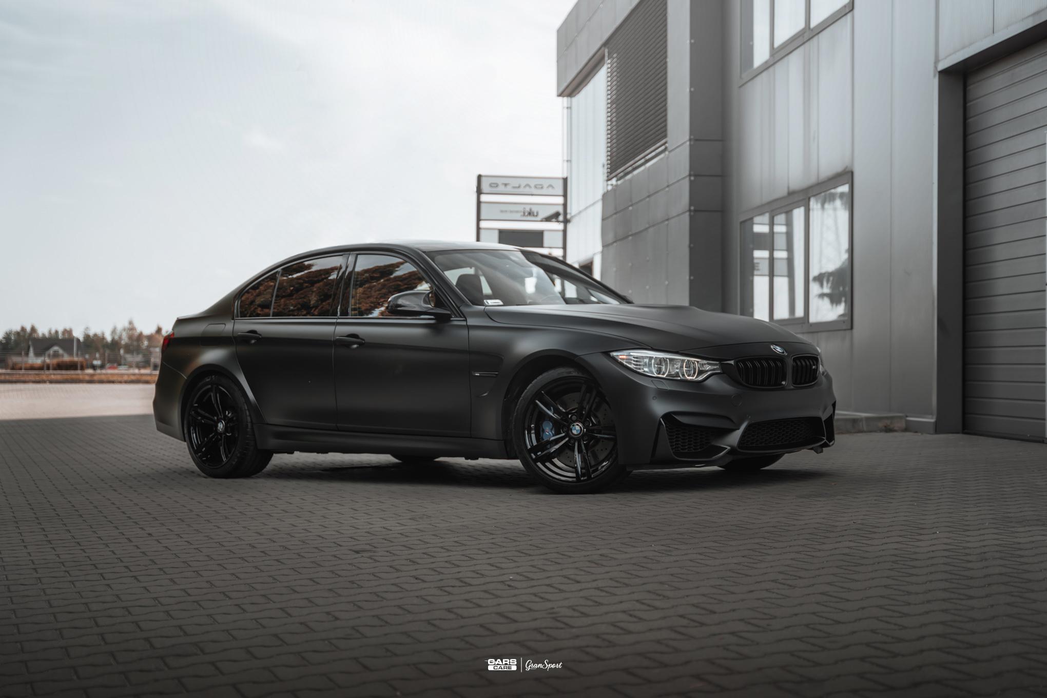 BMW M3 - Zmiana koloru auta folią - carscare.pl