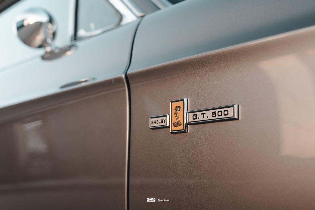 Ford Mustang Shelby GT 500 Eleanor - Zabezpieczenie auta bezbarwną folią ochronną - carscare.pl