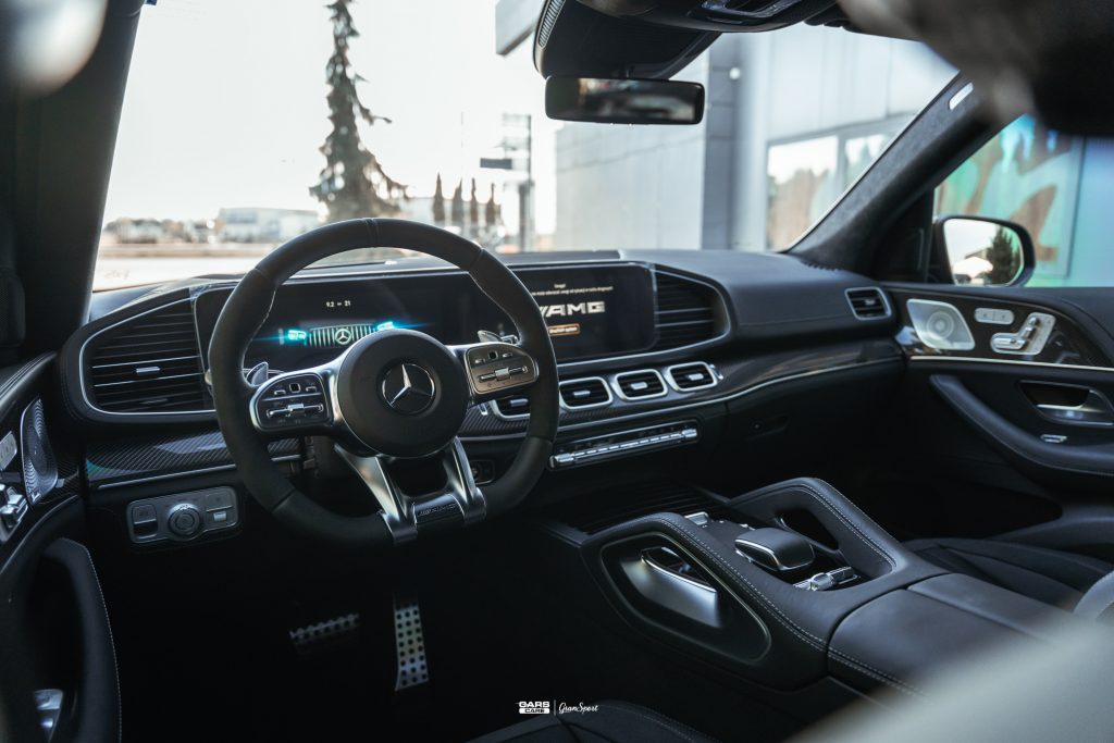 Mercedes-AMG GLE 63 S - Zabezpieczenie auta bezbarwną folią ochronną - carscare.pl