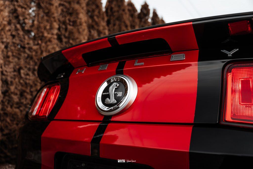 Shelby GT500 - Powłoka ceramiczna - carscare.pl
