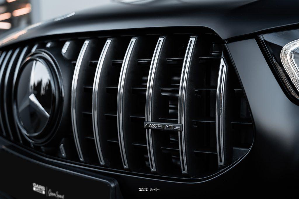 Mercedes-AMG GLE 53 Coupe - Zabezpieczenie auta bezbarwną folią ochronną - carscare.pl