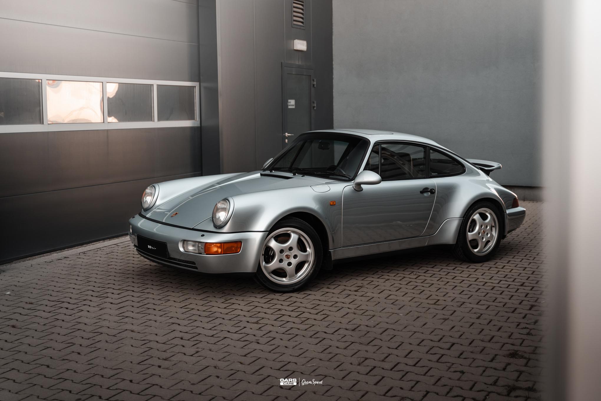 Porsche 911 964 - Powłoka ceramiczna - carscare.pl