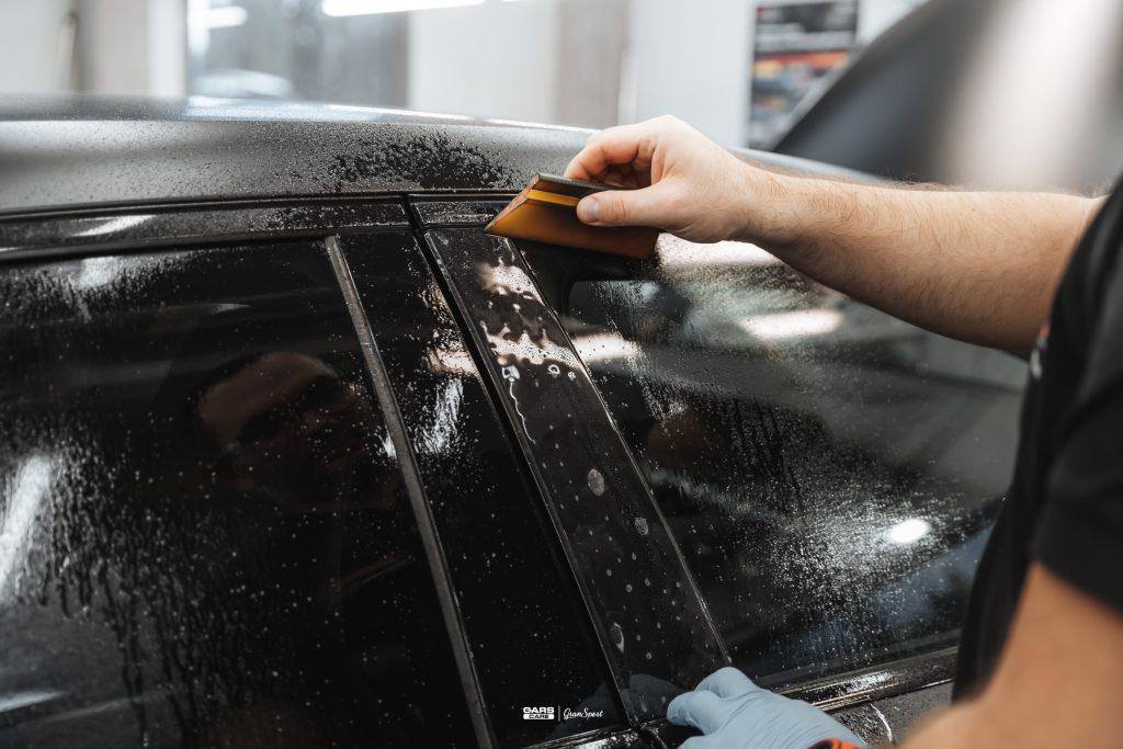 Mercedes-Benz Klasy A - Zabezpieczenie auta bezbarwną folią ochronną - carscare.pl